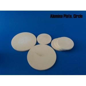 Alumina ceramic plate, circle